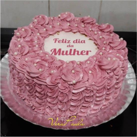 Bolo Mulher - ideias de bolos para o Dia da Mulher