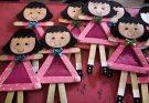 Lembrancinhas fáceis e criativas para as crianças fazerem no Dia Internacional da Mulher