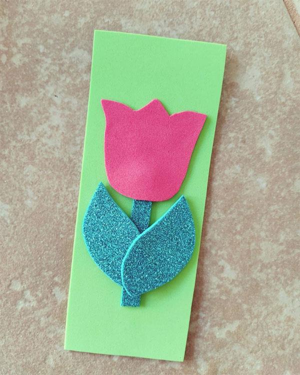 Ideias de lembrancinhas para o Dia da Mulher com marcador de páginas