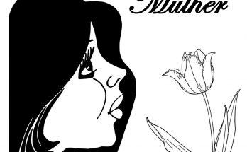 desenho para colorir dia da mulher