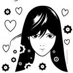 Atividades escolares Dia da Mulher - desenho para colorir