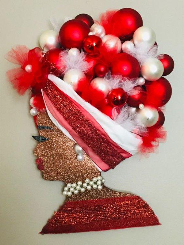Ideias de Guirlanda Diva para o Dia da Mulher, Natal ou Dia das Mães