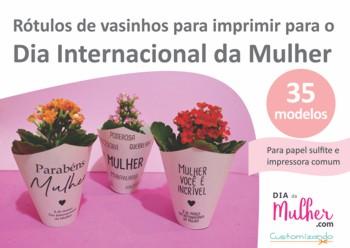 Lembrancinhas Dia da Mulher