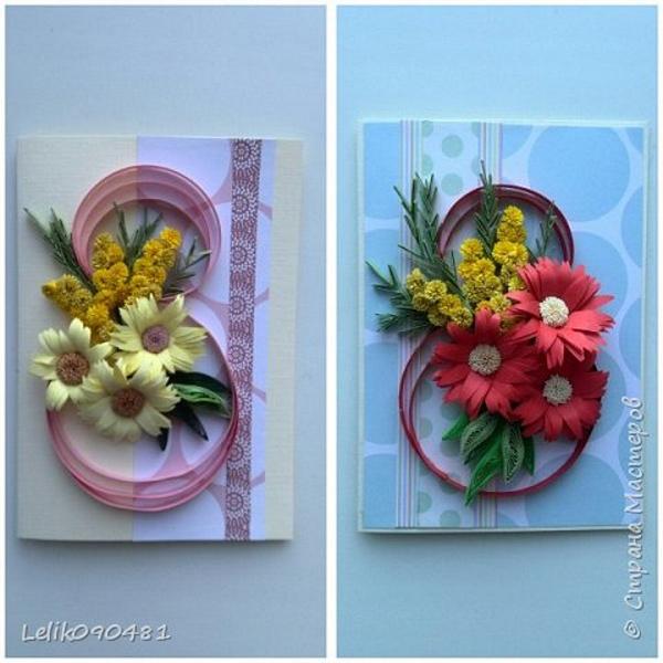 Ideias de cartão Dia da Mulher com número 8